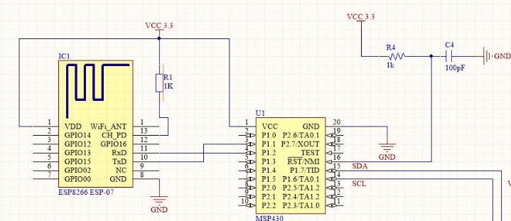 Drive - Giao tiếp wifi dùng ESP8266 trên MSP430G2553 | Vi mạch